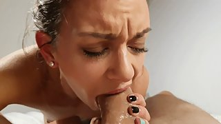 4K POV Cock worship - handjob, blowjob, footjob and riding