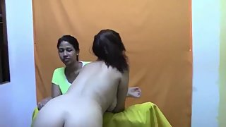 Two Latina Slut Get Spanked and Fucked in the Ass