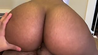 Ghetto Booty bouncing on BBC