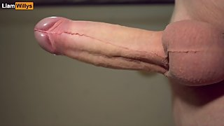Jerk Off Big White Dick - A Huge load Cum AFTER A LOT OF YEARS OF WAITING