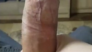 SOLO MALE MOANING AND WANKING TO GANGBANG TILL I CUM HARD