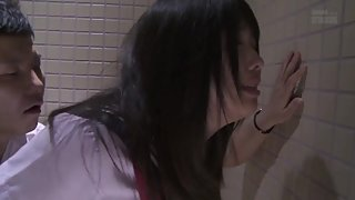 Yui Azuchi fucked on toilet