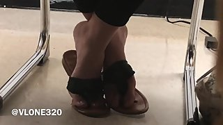 CANDID SchooL Feet TEEN MODEL