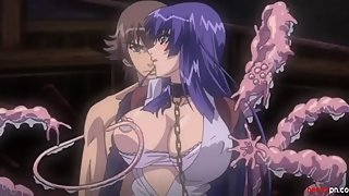 ?Uncensored?- two gorgeous anime babes banged by evil tentacles