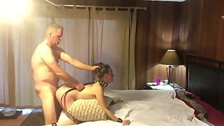 Naughty and innent babe with her stepdad